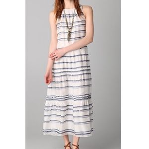 Theory Izella Watercolor Maxi Dress